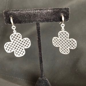 Authentic Designer John Hardy Silver Earrings